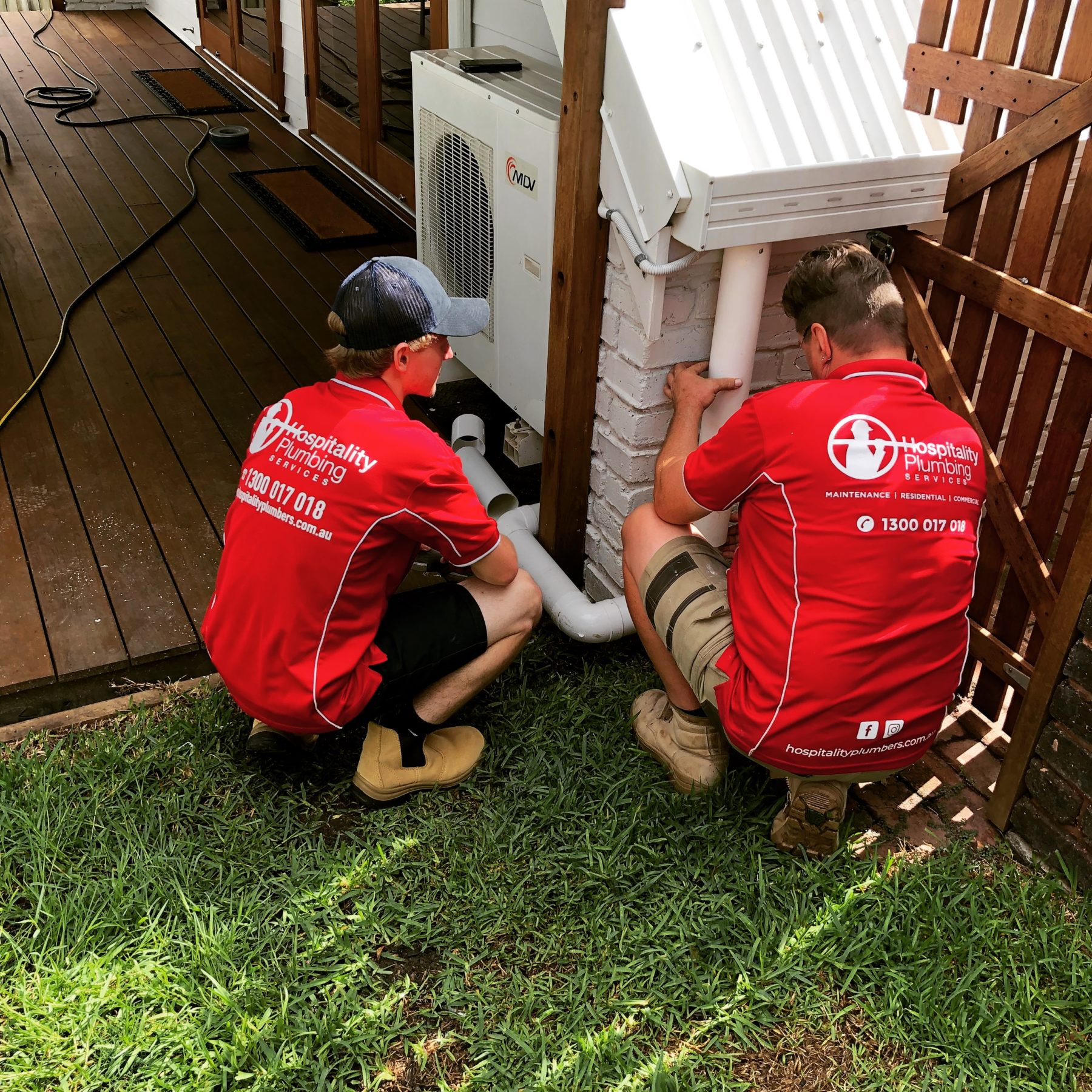 24 Hours a day, 7 days a week Emergency plumbing service.